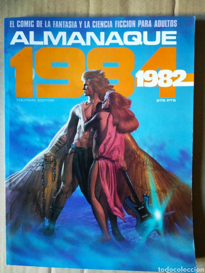 REVISTA 1984 ALMANAQUE 1982 (TOUTAIN EDITOR). INCLUYE HEAVY METAL: CÓMO SE HIZO LA PELÍCULA. (Tebeos y Comics - Toutain - 1984)