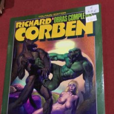 Cómics: TOUTAIN RICHARD CORBEN OBRAS COMPLETAS NUMERO 6 MUY BUEN ESTADO. Lote 148470510