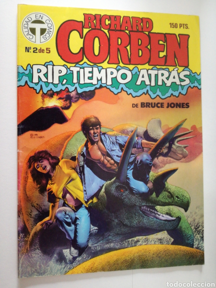 RIP TIEMPO ATRAS Nº 2 DE 5- RICHARD CORBEN / BRUCE JONES - TOUTAIN 1987 (Tebeos y Comics - Toutain - Otros)