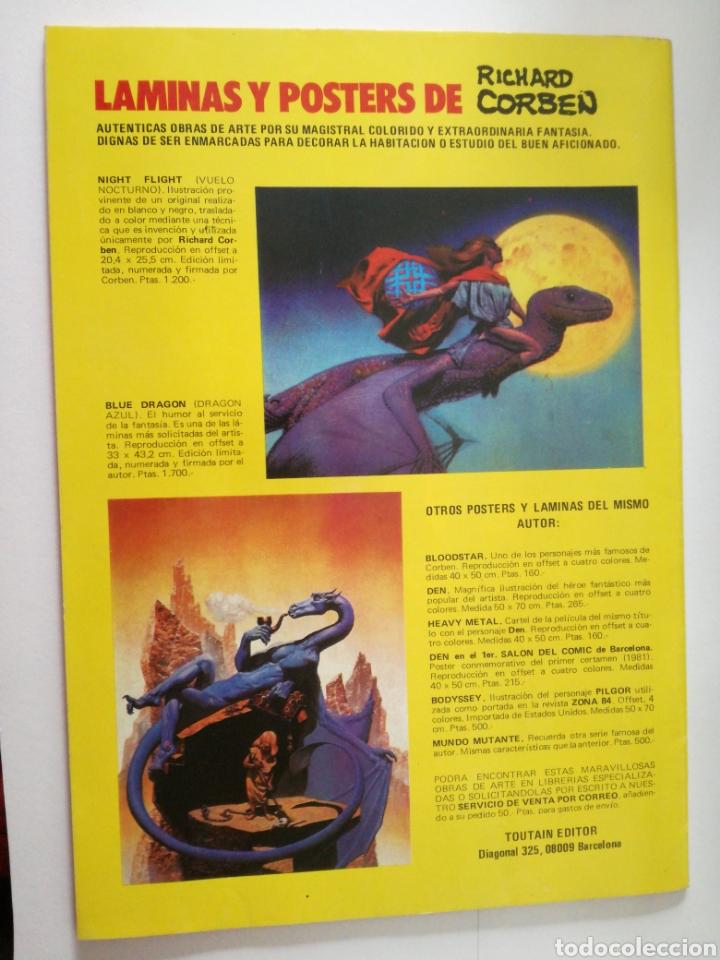 Cómics: RIP TIEMPO ATRAS Nº 3 De 5- Richard Corben / Bruce Jones - TOUTAIN 1987 - Foto 2 - 148912482