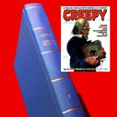Cómics: CREEPY - TOMO ENCUADERNADO, Nº - 0 EXTRA-1-2-3-4-5-6 Y 7-CON PORTADAS, 1979-TOUTAIN - ORIGINALES. Lote 148985734