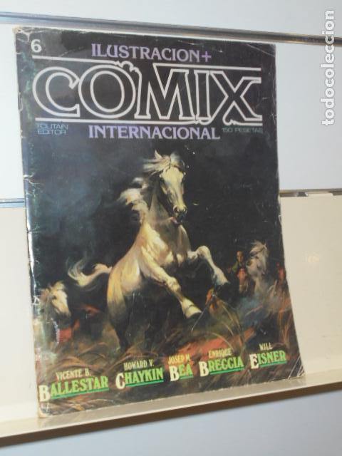 REVISTA ILUSTRACION + COMIX INTERNACIONAL Nº 6 - TOUTAIN - OCASION (Tebeos y Comics - Toutain - Comix Internacional)
