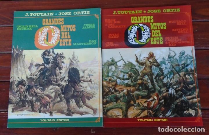 GRANDES MITOS DEL OESTE - TOUTAIN / COLECCIÓN COMPLETA (Tebeos y Comics - Toutain - Álbumes)
