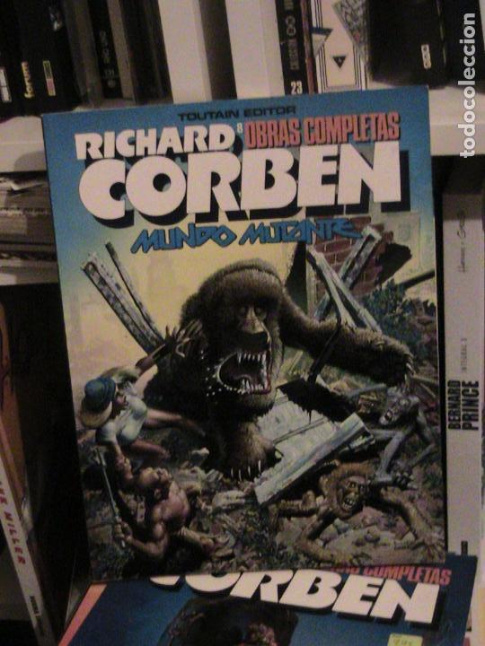 RICHARD CORBEN OBRAS COMPLETAS 8. MUNDO MUTANTE. TOUTAIN, 1989. (Tebeos y Comics - Toutain - Obras Completas)