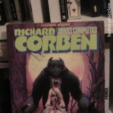 Comics: RICHARD CORBEN OBRAS COMPLETAS 2. HOMBRE LOBO. TOUTAIN, 1984.. Lote 150021158
