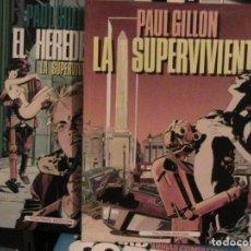 Cómics: EL HEREDERO. COMPLETA. 2 TOMOS. TOUTAIN, 1990.. Lote 150021334