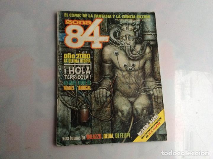 ZONA 84 - Nº 82 LLEVA SUPLEMENTO CENTRAL EDITA : TOUTAIN (Tebeos y Comics - Toutain - Zona 84)