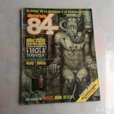 Comics : ZONA 84 - Nº 82 LLEVA SUPLEMENTO CENTRAL EDITA : TOUTAIN. Lote 150421826