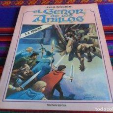 Cómics: EL SEÑOR DE LOS ANILLOS II PARTE. TOUTAIN 1980. 200 PTS. RÚSTICA. LORD OF THE RINGS. RARO. BE.. Lote 150562430
