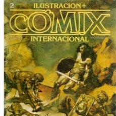 Cómics: COMIX INTERNACIONAL. Nº 2. TOUTAIN EDITOR. (ST/). Lote 150585018