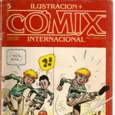Cómics: COMIX INTERNACIONAL. Nº 5. TOUTAIN EDITOR. (ST/). Lote 150585346