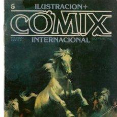 Cómics: COMIX INTERNACIONAL. Nº 6. TOUTAIN EDITOR. (ST/). Lote 150585474
