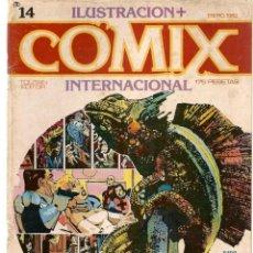Cómics: COMIX INTERNACIONAL. Nº 14. TOUTAIN EDITOR. (ST/). Lote 150585794