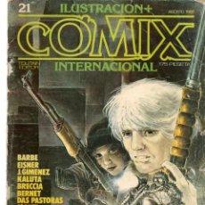 Cómics: COMIX INTERNACIONAL. Nº 21. TOUTAIN EDITOR. (ST/). Lote 150586014