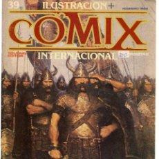 Cómics: COMIX INTERNACIONAL. Nº 39. TOUTAIN EDITOR. (ST/). Lote 150586306