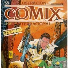Cómics: COMIX INTERNACIONAL. Nº 59. TOUTAIN EDITOR. (ST/). Lote 150586470
