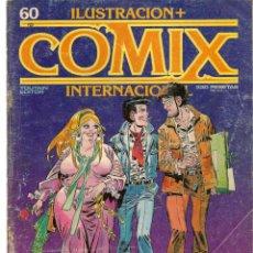 Cómics: COMIX INTERNACIONAL. Nº 60. TOUTAIN EDITOR. (ST/). Lote 150586570