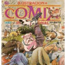 Cómics: COMIX INTERNACIONAL. Nº 61. TOUTAIN EDITOR. (ST/). Lote 150586678