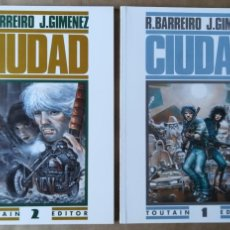 Cómics: CIUDAD - TOMOS 1 Y 2 - R. BARREIRO J. GIMENEZ - TOUTAIN EDITOR. Lote 150598658