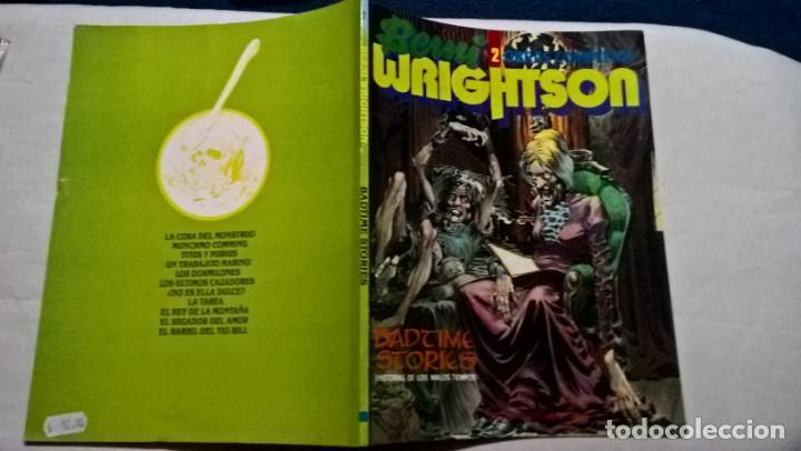 COMICS: BERNI WRIGHTSON - BADTIME STORIES - OBRAS COMPLETAS Nº 2 (ABLN) (Tebeos y Comics - Toutain - Obras Completas)