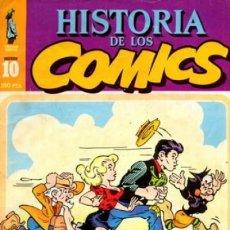 Cómics: HISTORIA DE LOS CÓMICS - Nº 10 - LA ACCIÓN- LI ´L ABNER- 1982- MUY BUEN ESTADO-DIFÍCIL-LEAN-0246. Lote 151149350
