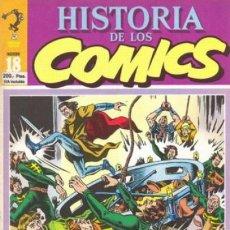 Cómics: HISTORIA DE LOS CÓMICS - Nº 18 - LOS CÓMICS DEL FRANQUISMO-TRUENO INÉDITO-1982-BUENO-DIFÍCIL-0247. Lote 151152478