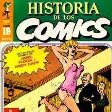 Cómics: HISTORIA DE LOS CÓMICS - Nº 19 - LOS CÓMICS BRITÁNICOS-SÁTIRA Y HUMOR-1982-BUENO-DIFÍCIL-0248. Lote 151153978