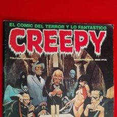 Cómics: CREEPY Nº 50 EXTRA, EL COMIC DEL TERROR Y LO FANTASTICO, EDITOR TOUTAIN, TIENE EL POSTER DE TORPEDO. Lote 151277834