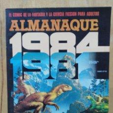 Cómics: 1984, ALMANAQUE 1981 - ED. TOUTAIN. Lote 151958510