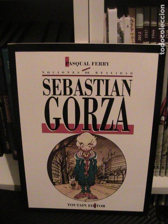 SEBASTIAN GORZA. PASQUAL FERRY. TOUTAIN EDITOR, 1991. (Tebeos y Comics - Toutain - Álbumes)