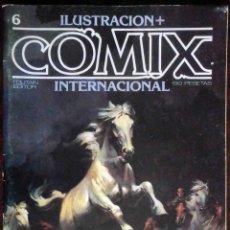 Cómics: ILUSTRACIÓN + COMIX INTERNACIONAL Nº 6 - TOUTAIN EDITOR. Lote 152374038