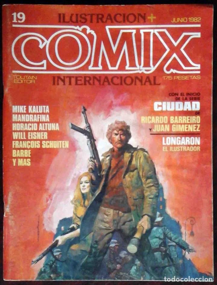 ILUSTRACIÓN + COMIX INTERNACIONAL Nº 19 - TOUTAIN EDITOR (Tebeos y Comics - Toutain - Comix Internacional)