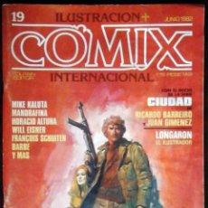 Cómics: ILUSTRACIÓN + COMIX INTERNACIONAL Nº 19 - TOUTAIN EDITOR. Lote 152374274