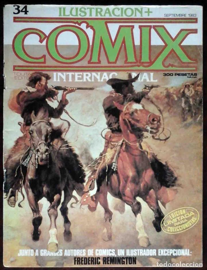 ILUSTRACIÓN + COMIX INTERNACIONAL Nº 34 - TOUTAIN EDITOR - EDICIÓN LIMITADA PARA COLECCIONISTAS (Tebeos y Comics - Toutain - Comix Internacional)