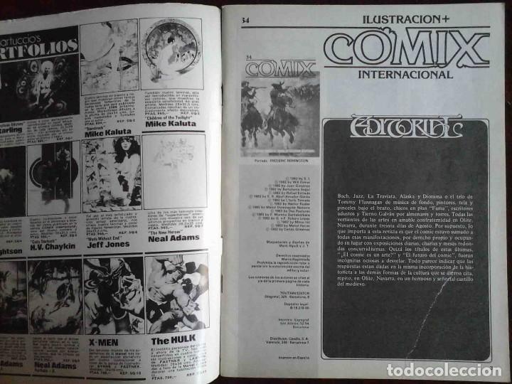 Cómics: Ilustración + Comix Internacional Nº 34 - Toutain Editor - Edición limitada para coleccionistas - Foto 2 - 152374418