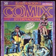 Cómics: ILUSTRACIÓN + COMIX INTERNACIONAL Nº 38 - TOUTAIN EDITOR - EDICIÓN LIMITADA PARA COLECCIONISTAS. Lote 152374442