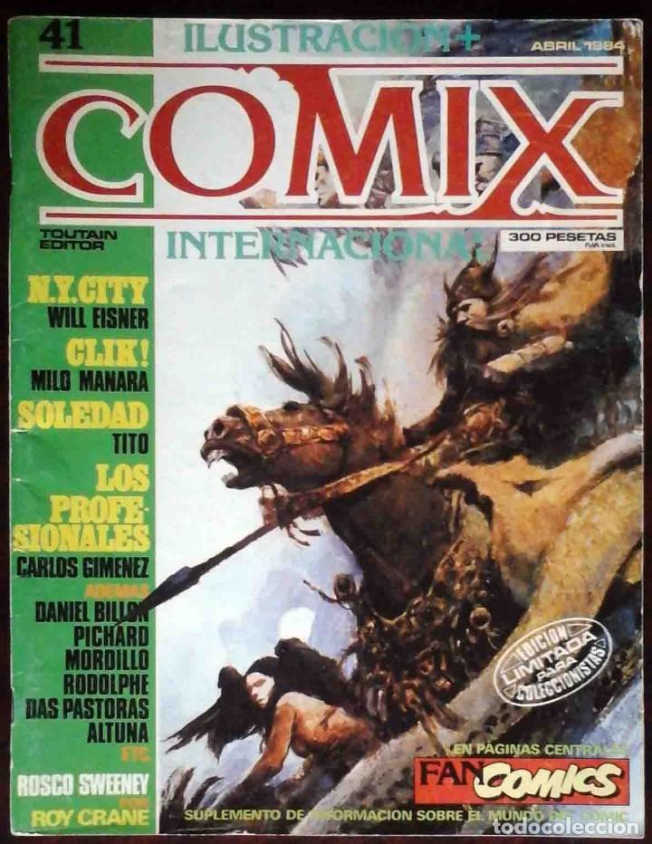 ILUSTRACIÓN + COMIX INTERNACIONAL Nº 41 - TOUTAIN EDITOR - EDICIÓN LIMITADA PARA COLECCIONISTAS (Tebeos y Comics - Toutain - Comix Internacional)