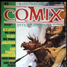 Cómics: ILUSTRACIÓN + COMIX INTERNACIONAL Nº 41 - TOUTAIN EDITOR - EDICIÓN LIMITADA PARA COLECCIONISTAS. Lote 152374510