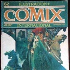 Cómics: ILUSTRACIÓN + COMIX INTERNACIONAL Nº 62 - TOUTAIN EDITOR. Lote 152374978