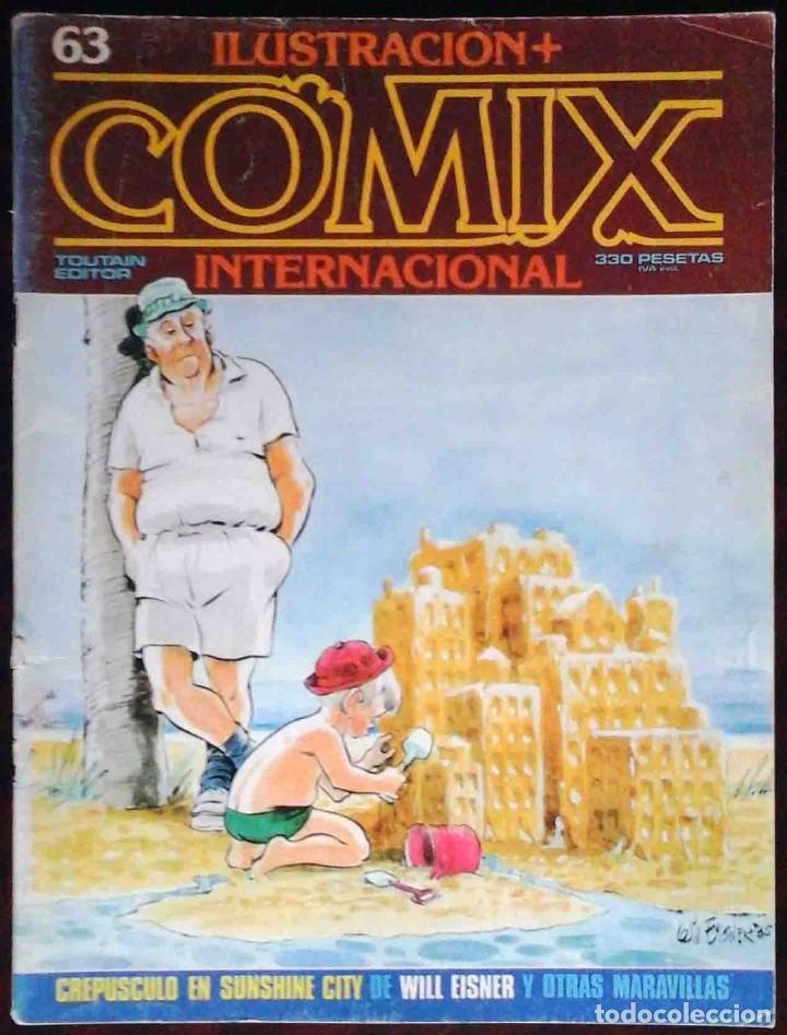 ILUSTRACIÓN + COMIX INTERNACIONAL Nº 63 - TOUTAIN EDITOR (Tebeos y Comics - Toutain - Comix Internacional)