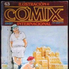 Cómics: ILUSTRACIÓN + COMIX INTERNACIONAL Nº 63 - TOUTAIN EDITOR. Lote 152375194
