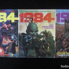 Cómics: 1984: NºS 10, 11 Y 12. TOUTAIN. Lote 152483258
