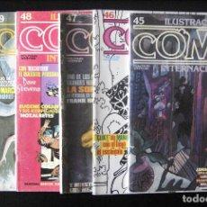 Cómics: COMIX INTERNACIONAL, LOTE 6 NºS CONSECUTIVOS: 45, 46, 47, 48, 49 Y 50. TOUTAIN. Lote 152484218