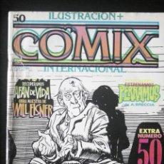 Cómics: COMIX INTERNACIONAL, Nº 50. PORTADA CON ERROR DE IMPRENTA. TOUTAIN. RAREZA.. Lote 152484854