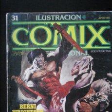 Cómics: COMIX INTERNACIONAL, Nº 31. TOUTAIN.. Lote 152485010
