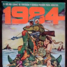 Cómics: 1984 Nº DIECISIETE 17 - CONTIENE PÓSTER - TOUTAIN EDITOR. Lote 152489194