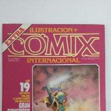 Cómics: ILUSTRACIÓN+COMIX INTERNACIONAL-EXTRA CONCURSO - 1983 EDITORIAL TOUTAIN - BUEN ESTADO. Lote 153257894