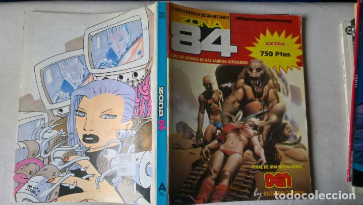 COMIC: ZONA 84. EXTRA CON LOS NÚMEROS 92, 93 Y 94. FINAL DE UNA NUEVA ETAPA DEN (ABLN) (Tebeos y Comics - Toutain - Zona 84)