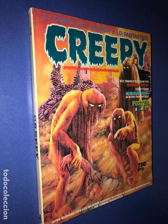 CREEPY TOMO DEL 10 AL 12 DE TOUTAIN 1990 (Tebeos y Comics - Toutain - Creepy)