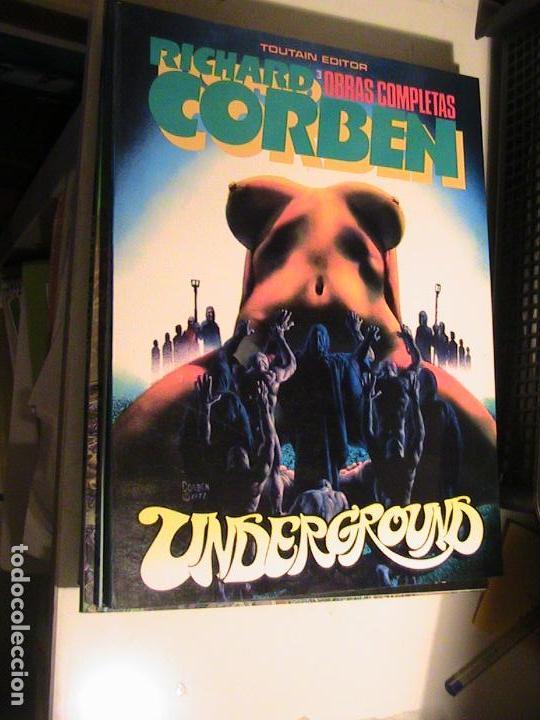 RICHARD CORBEN OBRAS COMPLETAS 3. UNDERGROUND 3. TOUTAIN, 1985. (Tebeos y Comics - Toutain - Álbumes)